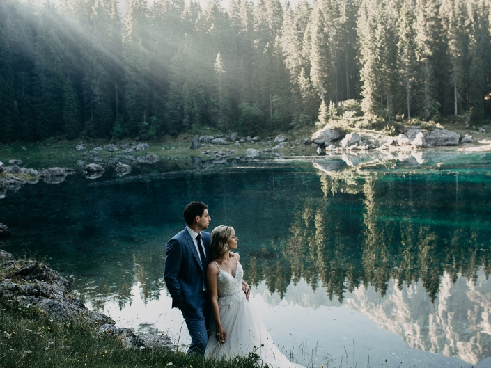 AFTER WEDDING SHOOTING IN BOZEN
